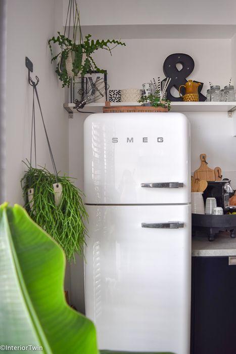 Een Smeg Koelkast In De Keuken Interiortwin Home Home Improvement Home Projects