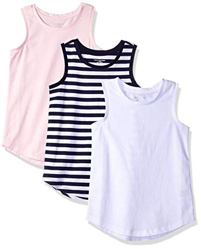 Essentials Girls 3-Pack Tank Top