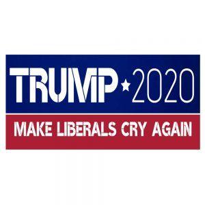 Donald Trump 2020 Keep America Great Decal Bumper Window Car Sticker USA 9x3