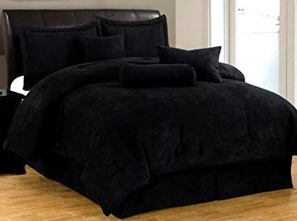 Black Bed In A Bag Comforter Sets Blue Comforter Sets Black Comforter Sets