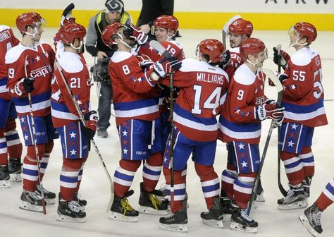2010 Washington Capitals had best record in hockey; this team is