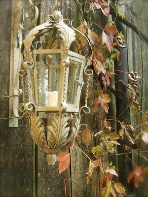 Großer Nostalgischer Übertopf METALL Shabby Landhaus Blumentopf Vintage  Amphore