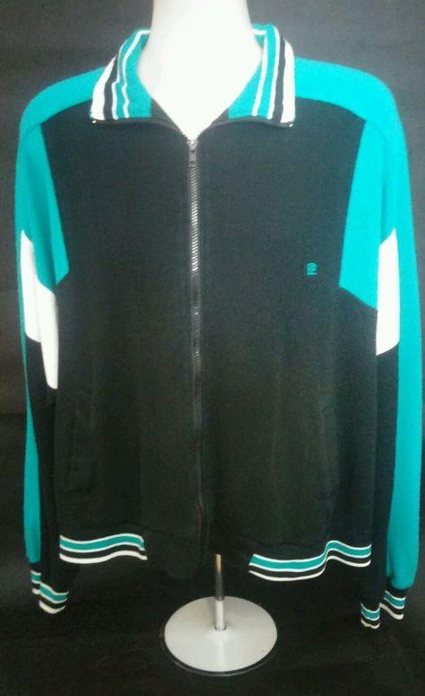 Pierre Cardin Xltrack Jacket 80s Kitschy Urban 80s Soft Hip Hop Soft Logo F S Pierrecardin Trackjacket Vintage Outfits Track Jackets Hoodies Men