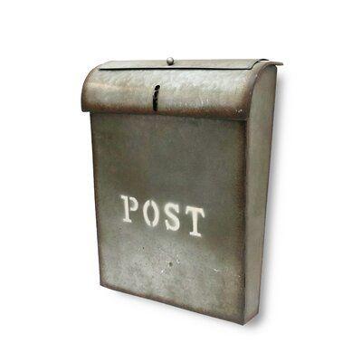 Modern Mailbox Louis B Wall Mounted Mailbox Black Powder Coated Modern Mailbox Contemporary Mailboxes Mounted Mailbox