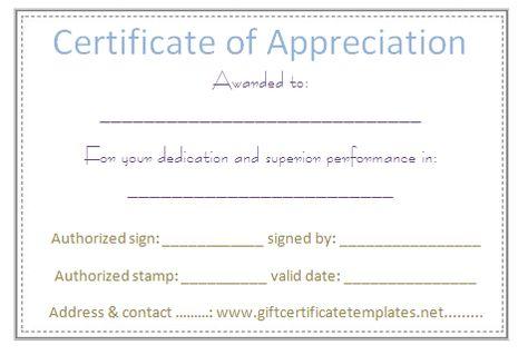 Elegant certificate of appreciation template - Certificate - interoffice memorandum template