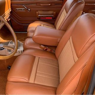 1983 Jeep Grand Wagoneer Interior Restoration In Genuine Leather