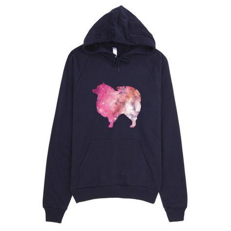 Pomeranian Galaxy Hoodie