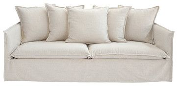 Graham Slipcovered Sofa Contemporary Sofas By Z Gallerie Slipcovers Pinterest