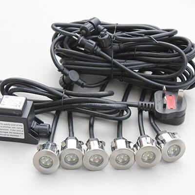 ip68 led deck lights ground lights