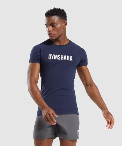 Beach Outfits Discover Gymshark Apollo T-Shirt - Dark Blue Fine Black Men, Handsome Black Men, Dark Man, Soccer Guys, Rugby Men, Hunks Men, Hommes Sexy, Dad To Be Shirts, Summer Outfits