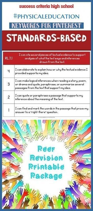 Succes Criteria Primary Physical Education Tedra Km Duy Tedrakmduy Crite Bright Star Poem Paraphrase