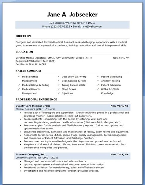 Medical Billing Resume Entry Level Medical Assistant Resume With No Experience  Resume