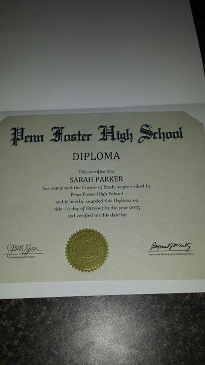 let s hear it for tonya she graduated from penn foster s  earn your online high school diploma at penn foster high school our online high school courses are self paced accredited and affordable