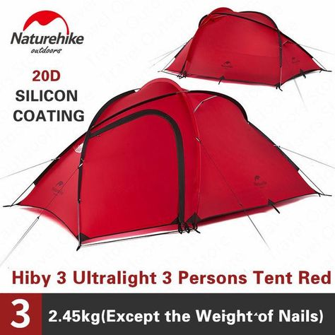 hiby 3 man tent