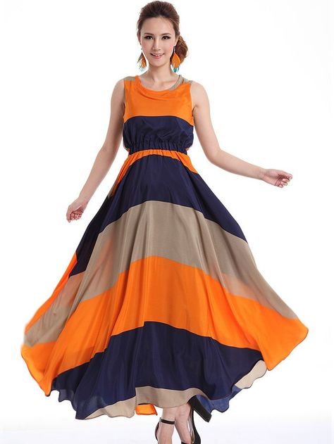 However, emerging trends seen long flowing dresses find a place in the summer season.