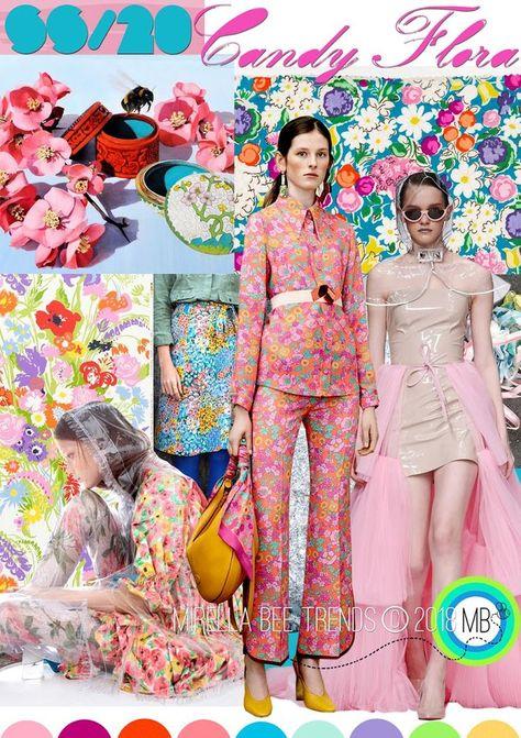 FASHION VIGNETTE: TREND | MIRELLA BRUNO - CANDY FLORA . SS 2020  #bruno #Candy #Fashion #Flora #mirella #SS #Trend #vignette