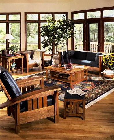 Misson Furniture From Stickley My Furniture Is All Craftsman Gorgeous Dining Room Furnitures Inspiration Design