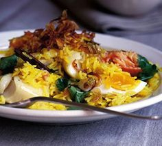 There are a million versions of kedgeree, but we reckon this is the best and easiest of the lot
