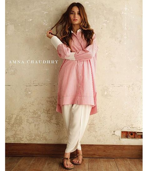 Amna Chaudhry has consistently wowed fashion mongers with her minimalist collections for half a decade. She officially branched out with the launch of her flagship store a few months ago in A
