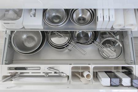 Web内覧会 リクシルのキッチン収納 1年間の変化 キレイに使い