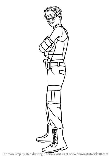 Learn How To Draw Henry Hart From Henry Danger Henry Danger Step