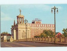 Anthony Wayne Hotel 1927 1964 Hamilton Community Corporation Postcard The Also Known As