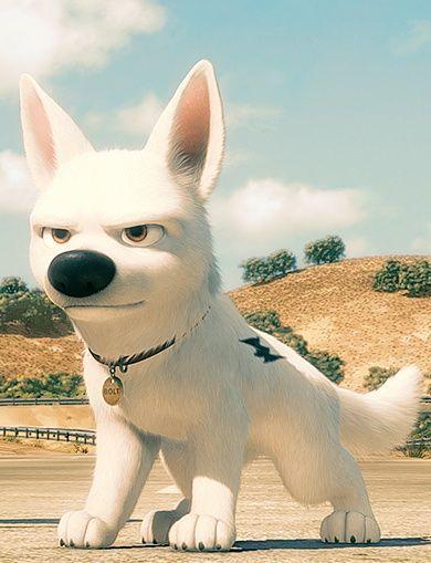 Bolt C Disney Animation Studios Desenhos De Personagens Da