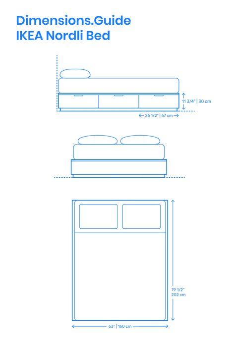 Ikea Nordli Bed Ikea Bed Ikea Nordli Queen Size Bed Frames