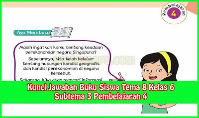 Kunci Jawaban Kelas 5 Tema 8 Jawaban Buku Tematik