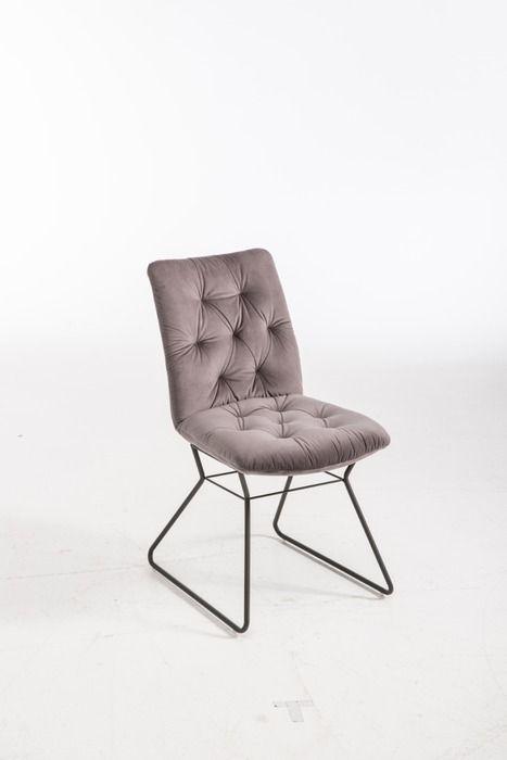 Stuhl Varese Grau Stoff In 2020 Stuhle Moderne Einrichtung Und Holztisch