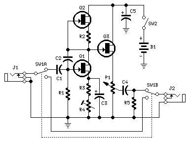 fuzz box http circuit diagram hqew net fuzz 2dbox circuit 2n3819 rh pinterest co uk Circuit Diagram Symbols Basic Electrical Wiring Diagrams