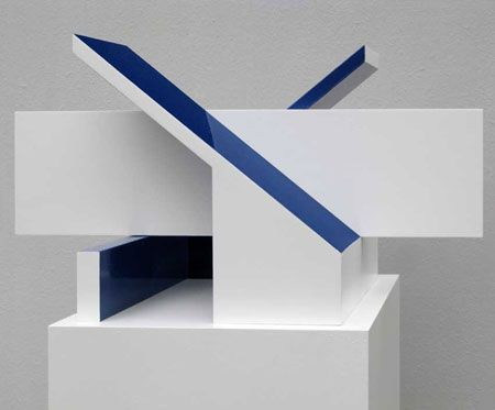 Hanns Armborst Geometrische Skulptur