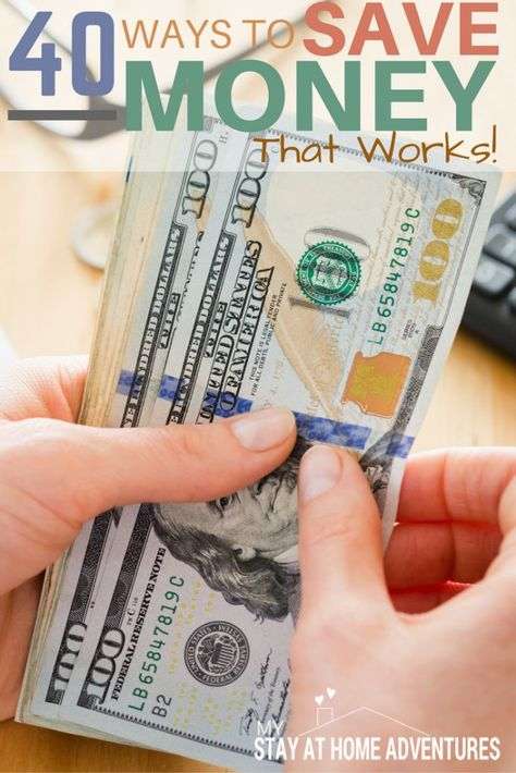 40 Ways To Save Money That Will Give You Results