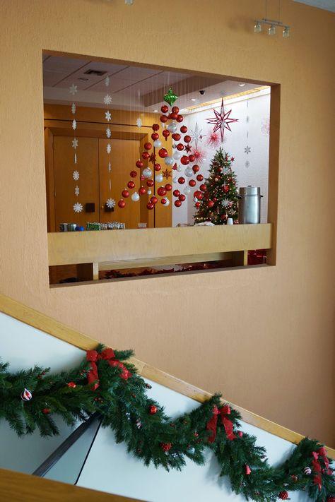 Decorando Para La Navidad Navidad Navidad En La Oficina Y