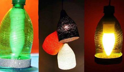 Cara Membuat Lampu Tidur Dari Barang Bekas Yang Unik Rumahpro Lampu Gantung Lampu Lampu Tidur