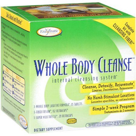 Enzymatic Therapy Internal Cleansing System With Cleansing