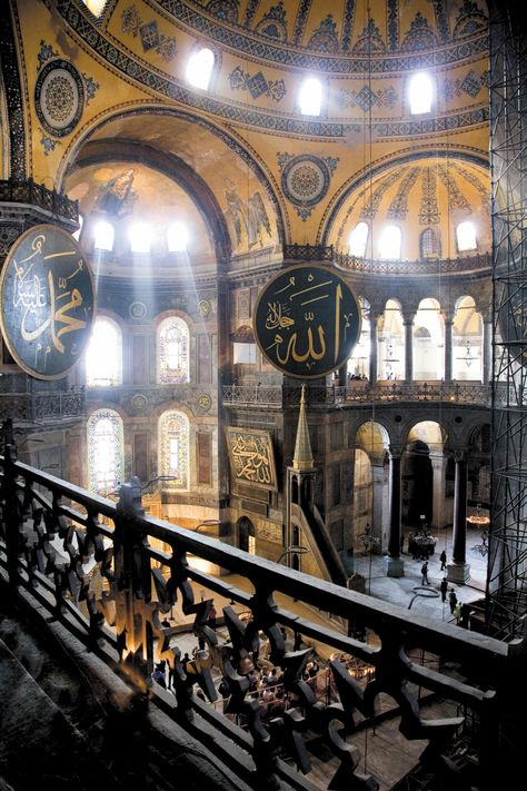 Since its construction in the sixth century, Istanbul's Hagia Sophia has had a major influence on global architecture – and when the sunlight spills in, it's easy to see why.
