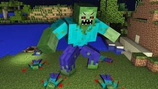 Dead Life Minecraft Animation Zombie Apocalypse