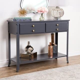Buy Coffee Console Sofa End Tables Online At Overstock Com Our Best Living Room Furniture Deals Sofa Table Wood Console Table Furniture