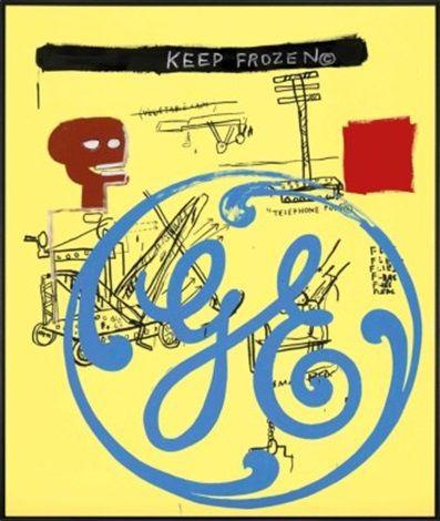 Keep Frozen (General Electric) by Jean-Michel Basquiat and Andy Warhol | Jean  michel basquiat, Fine arts posters, Basquiat
