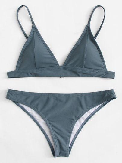 58955062d Adjustable Straps Bikini Set | Colorful Tops|Two-piece|Tshirt|Tank ...