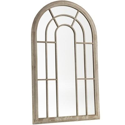 Cast Iron Outdoor Garden Large Window Mirror Reviews Temple