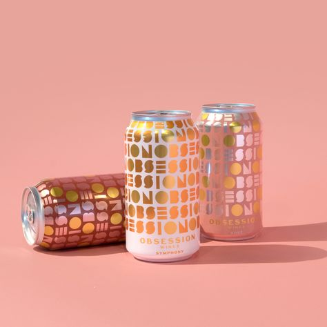 Bright Pattern Cans
