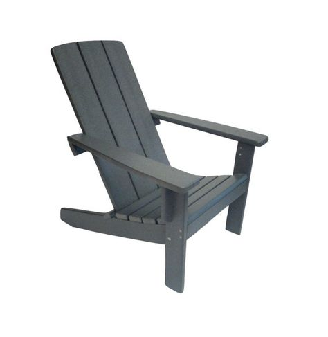 Adirondack Chair Modern Style Made From Poly Lumber Polywood
