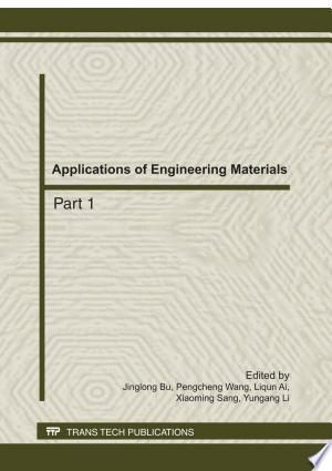 Applications Of Engineering Materials Pdf By Jing Long Bu Peng