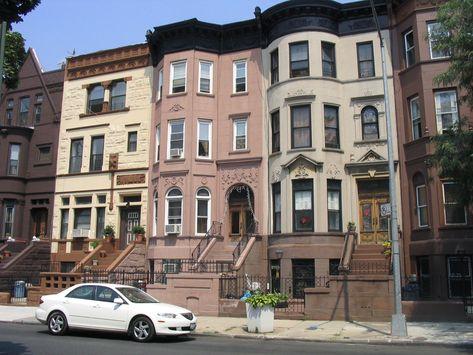 New York City Boroughs Brooklyn Brownstines Bedford