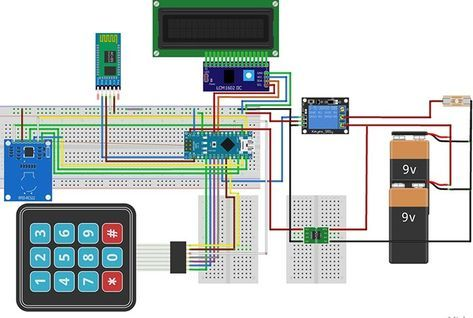 Make Your Own Arduino Rfid Door Lock Part 2 Unlock Using Your Smartphone Arduino Rfid Arduino Arduino Projects