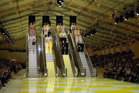 Vuitton genius catwalk