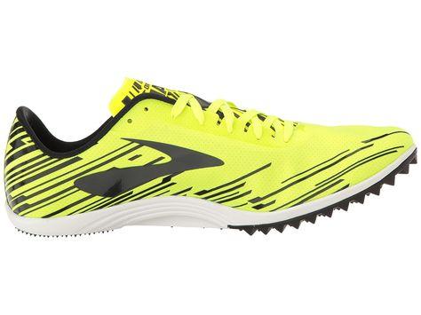 8e6a1250f5d Brooks Mach 18 Spikeless Men s Running Shoes Nightlife Brooks Brite  Blue Black