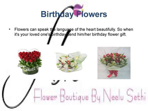 send flowers online for every occasions   http://flowerboutique.in/